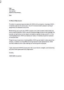 Exemple Lettre De Recommandation Pour Université Exemple De Lettre De Recommandation D Un Patron En Anglais