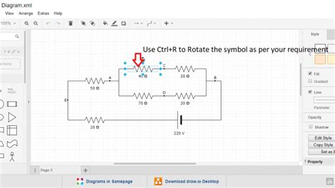 Best Circuit Diagram Maker Online Tool For Free Zzoomit