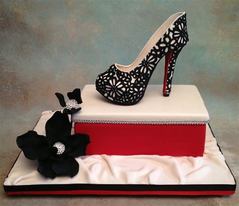 shoe cake you have to see fondant gum paste high heel shoe on craftsy
