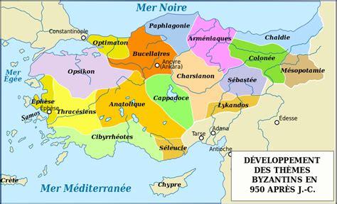 Etnique Syari fichier byzantine empire themata 950 fr svg wikip 233 dia