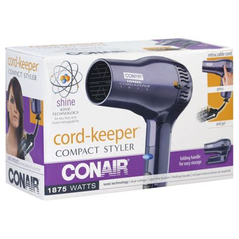 Hair Dryer Repair Bangalore conair cord keeper styler compact 1875 watts 1 styler