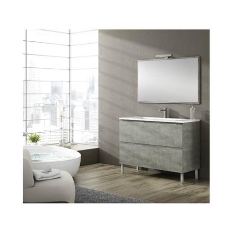meuble salle de bain sur pieds sigma  tiroirs robinet   meuble sur pieds