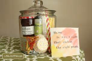 Household Gifts Housewarming Gift In A Jar Littlelifeofmine Com