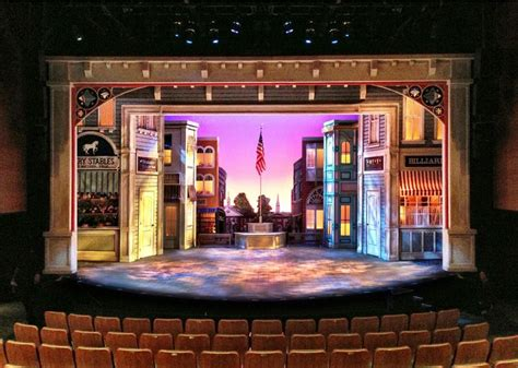 set design ideas the music man maltz jupiter theatre scenic design by