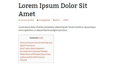 membuat daftar isi otomatis di wordpress panduanpemula membuat daftar isi di wordpress