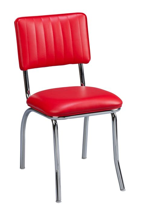 regal seating model 513cb commercial 50 s diner style retro restaurant chair with channel back
