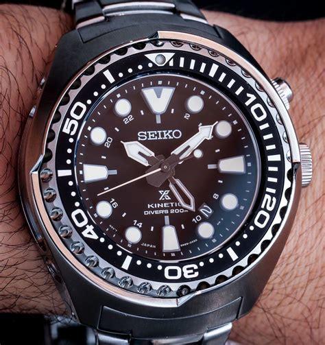 Seiko Prospex Sun019p1 Kinetic Gmt Divers 200m Jam Tangan Seiko seiko prospex kinetic gmt diver s 200m on