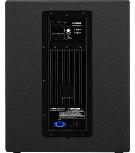 Subwoofer Active Yamaha 18 Inch Dsr 118w yamaha dsr118w 18 quot active subwoofer system proavmax sales the professional s av resource