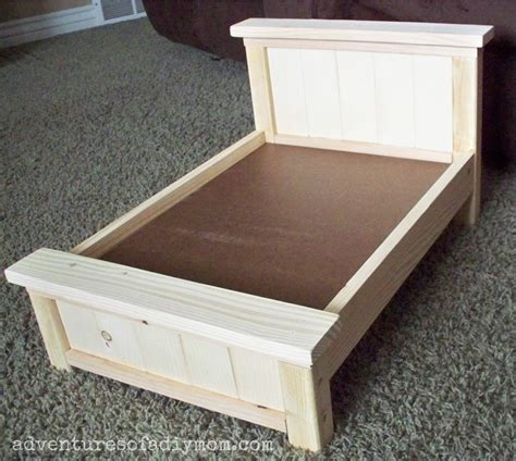 how to make a doll bed diy farmhouse doll bed for american girl dolls