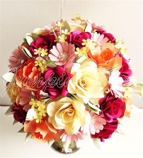 Paper Flower Bouquet - traditional paper flower bouquet