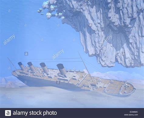 titanic boat iceberg titanic underwater stock photos titanic underwater stock