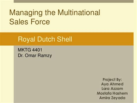 Shell Presentation Royal Shell Ppt