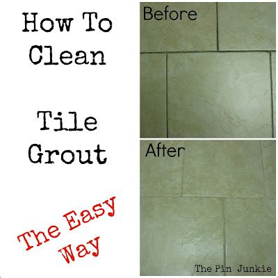 how do i clean grout in the bathroom how to clean tile grout the easy way