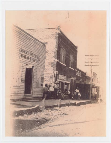 Unt Post Office by Photograph Of Palo Pinto S Storefronts And