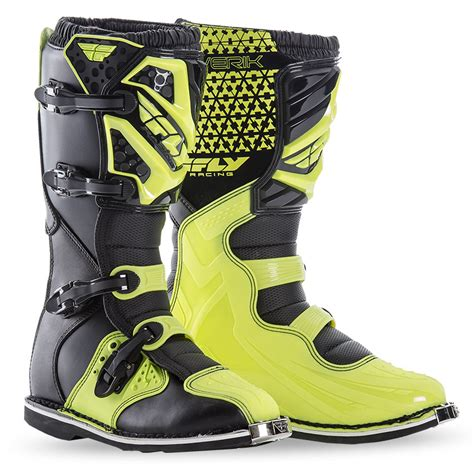 fly motocross boots fly racing 2016 maverik mx atv boots pair youth all