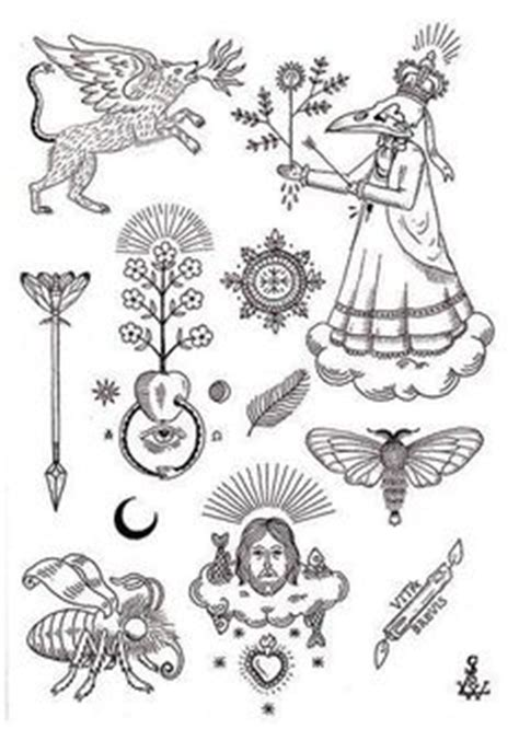 hand poke tattoo flash stick n poke cool tattoos pinterest poke