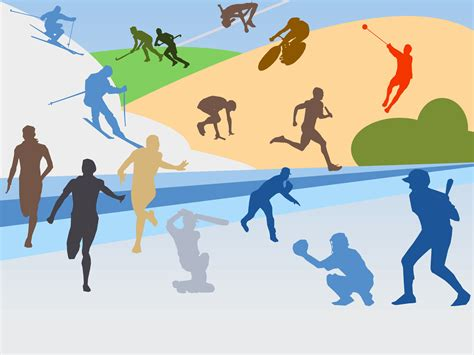 Various Sports Backgrounds Sports Templates Free Ppt Backgrounds And Powerpoint Slides Sports Powerpoint Templates