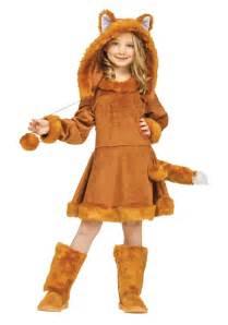 party city fox halloween costume sweet girls fox costume