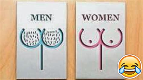bathroom signs funny funniest bathroom signs ever youtube