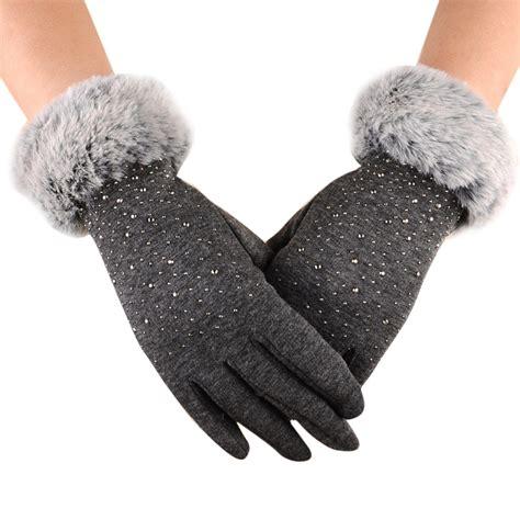 10 Warm Winter Accessories womens fashion winter outdoor sport warm fur thick