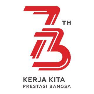 resmi logo hut ri    dirilis setneg vector cdr png hd   desaintasikcom