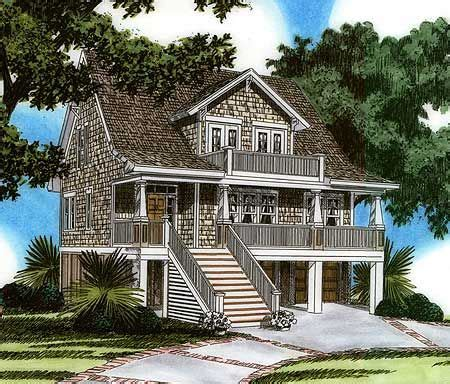 raised house plans plan 15023nc raised house plan living rec rooms house
