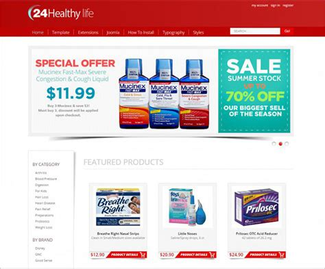 10 Joomla Pharmacy Templates Free Website Templates Pharmacy Html Template