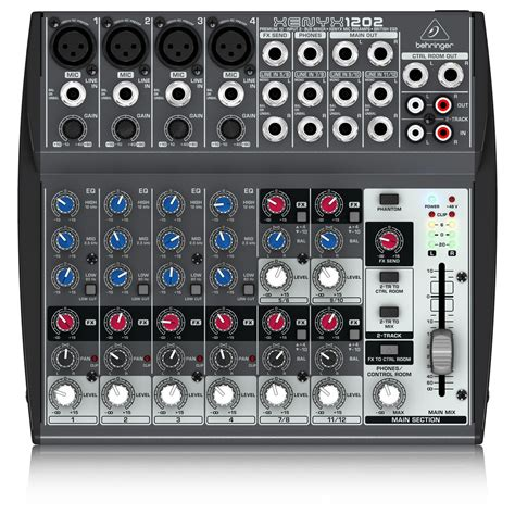 behringer xenyx 1202 mixer b stock at gear4music