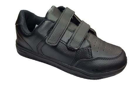 plain black shoes for bnib childrens boys smart back to school plain black