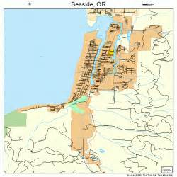 seaside oregon map 4165950