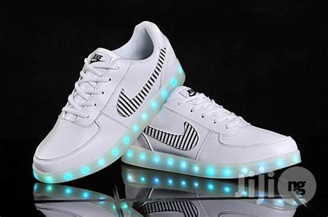 Led Nike nike led stimulation white blue for sale in ikeja buy shoes from charismatic collections on