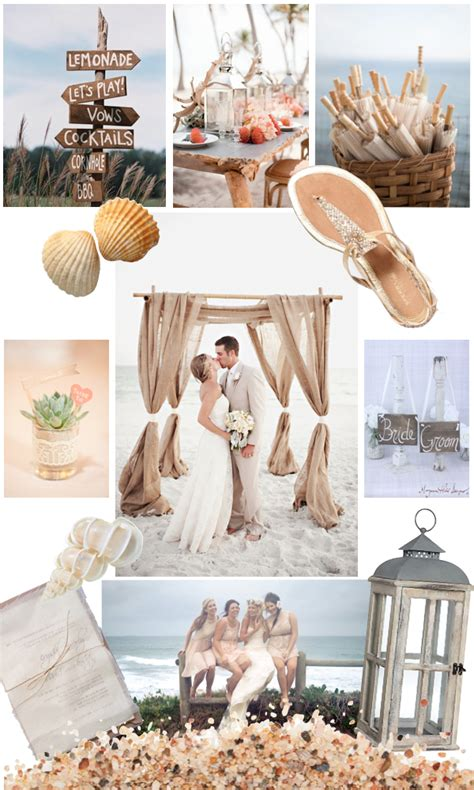 Rustic Beach Wedding – Real Wedding: Katy   Chad?s Rustic Beach Wedding   Green