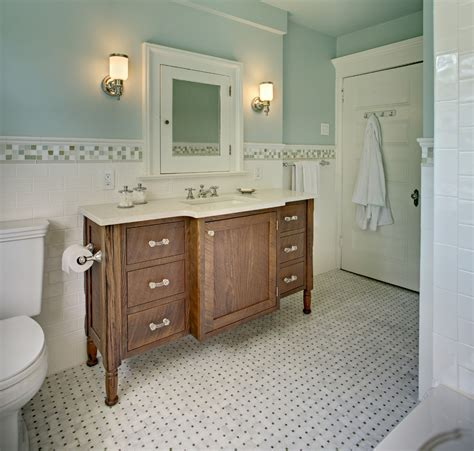 basketweave tile bathroom 30 great pictures and ideas basketweave bathroom floor tile