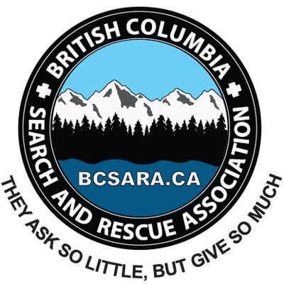 Search Bc Canada Columbia Search And Rescue Association Search And Rescue Volunteer