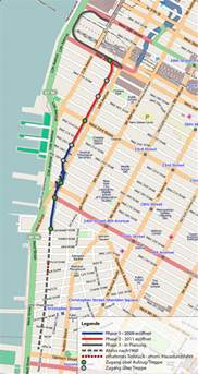 Highline New York Map by Midtown Blogger Manhattan Valley Follies The West Side