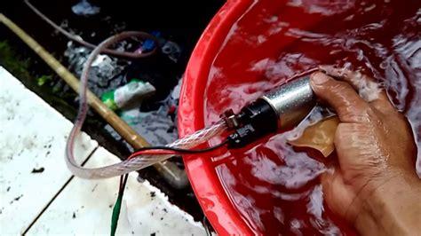 Pompa Air Mini Sawah pompa air dc modif sikecil jangkauanya mantap dan irit