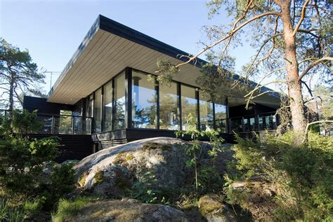 modern vacation home in merimasku finland