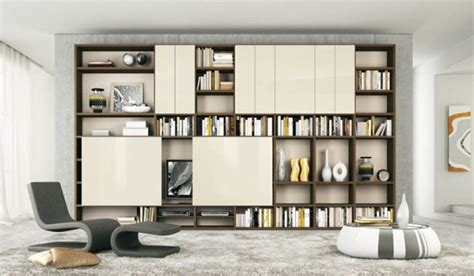 Modern Shelves For Living Room by Modern Living Rooms With Shelving Storage Units Home
