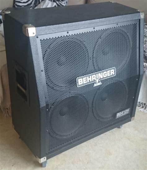 Behringer Ultrastack Bg412h Image 1063770 Audiofanzine Behringer 4x12 Guitar Cabinet