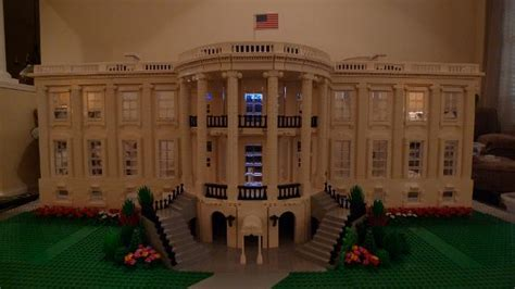 lego white house moc item bricklink moc edition