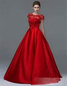 gown designs 2015 new design satin gown evening dress prom dress with sleeves vestidos de