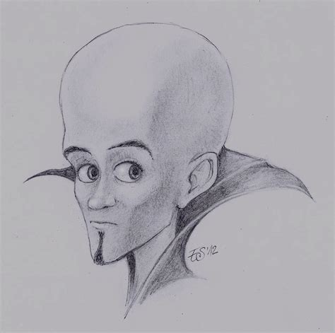 doodle drawings how to megamind tutorial picture by eleathyra on deviantart