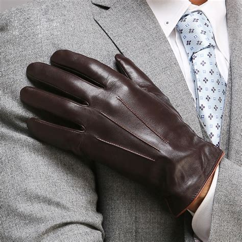 For Leather by Aliexpress Buy Top Quality Genuine Leather Gloves