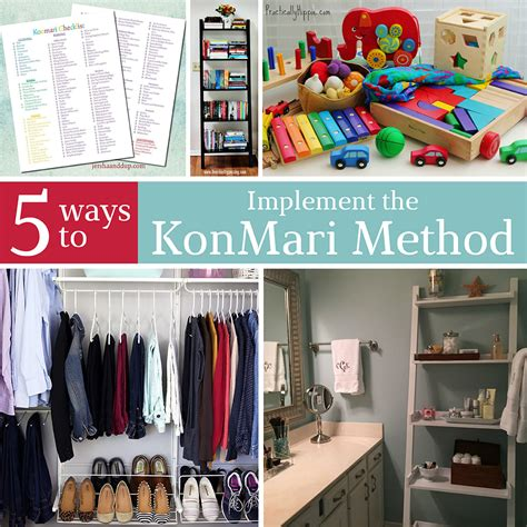 kondo organizing 5 ways to implement the konmari method in your home