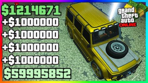 Fastest Way To Make Money On Gta Online - the best ways to get millions of dollars the fastest and easiest way to make money