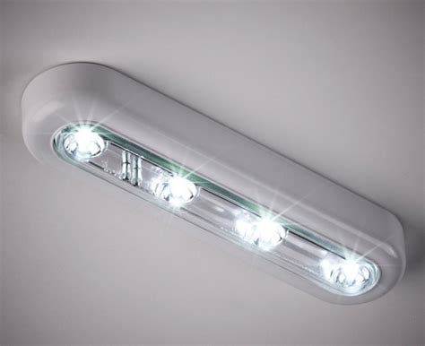 Cool White Led Touch Operated Battery Cupboard Light Led Led Lights Battery