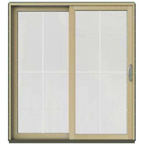 Single Sliding Patio Door Single Door Patio Doors Exterior Doors The Home Depot