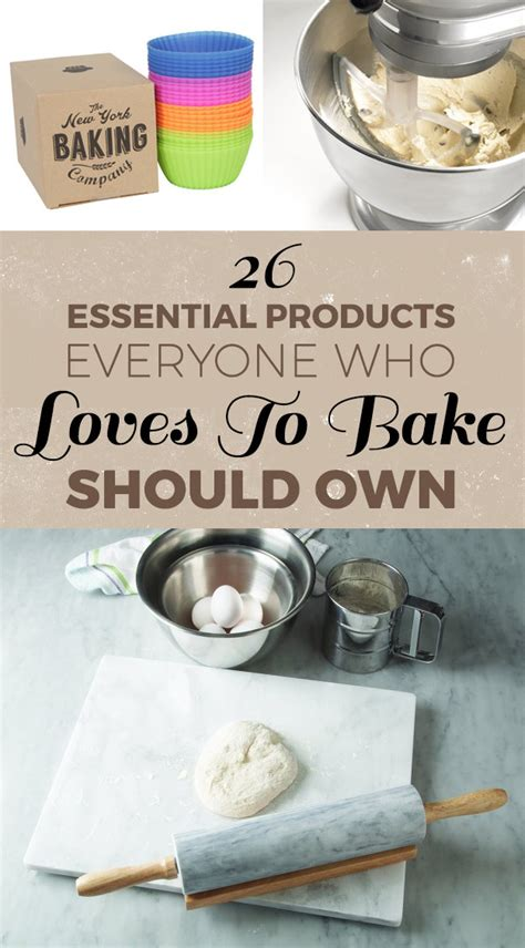 8 Essential Products All Should Own by 26 Essential Products Everyone Who To Bake Should