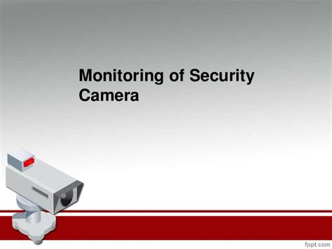 monitoring of security