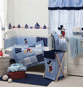 Baby Bedding Sets Disney Blue Mickey Mouse Bedding Set